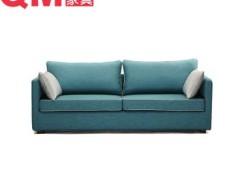 曲美家具 简约时尚沙发三人沙发13WS-S1-3