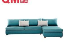曲美家具 转角布艺沙发 简约品质13WS-S1-Z1