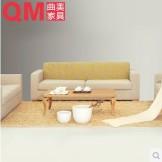 曲美家具组合布艺沙发09C-S2-3
