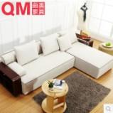 曲美家具 现代简约沙发组合沙发客厅 S12图片