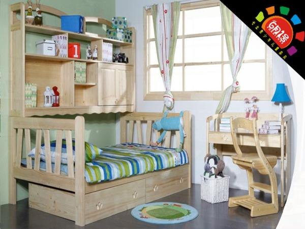 6月1号家具L22A-A B儿童书柜床