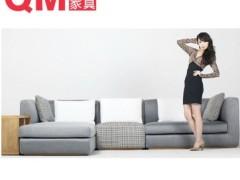 曲美家具 客厅家具转角沙发组合 F1-2011S14-C1R