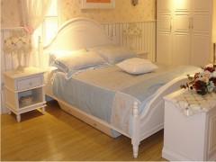 和风轩尼诗J256韩式家具象牙白1.5米/1.8米大床