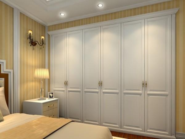 玛格定制家具 包覆欧风平开衣柜门
