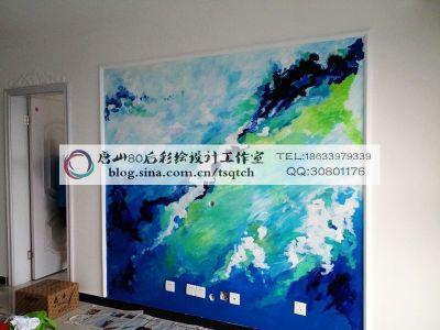 混搭风格-84平米二居室装修样板间