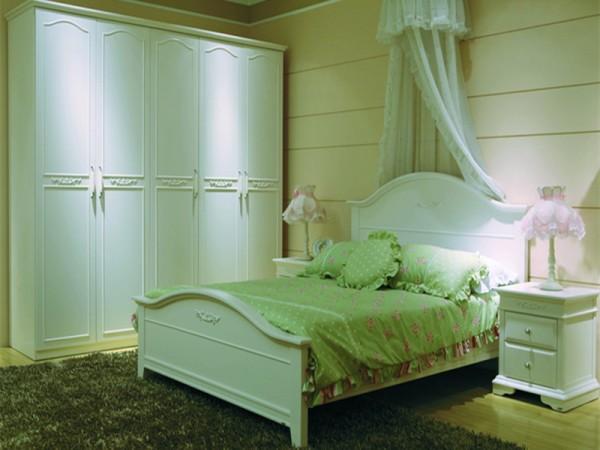 和风轩尼诗 J2810韩式田园家具1.5米/1.8米双人床