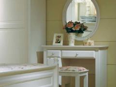 和风轩尼诗 J314 韩式家具 象牙白 镜台分体梳妆台