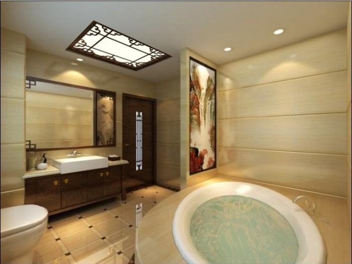 中式古典-209平米五居室-装修样板间