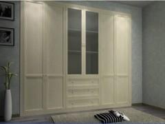 玛格定制家具 包覆N型衣柜平开门