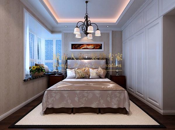欧式风格-93平米二居室-装修样板间