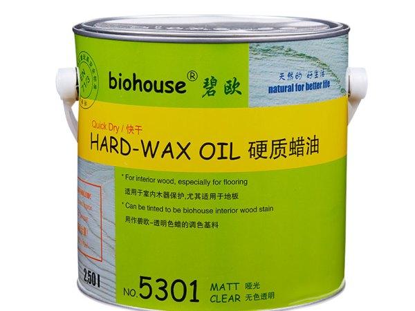 碧欧木蜡油5301硬质快干蜡油 透明哑光 环保室内木器漆油漆
