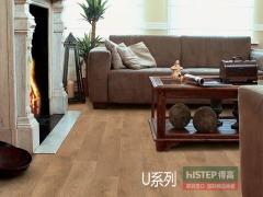 比利时快步舒适系列U312-亚光面老橡木强化复合地板