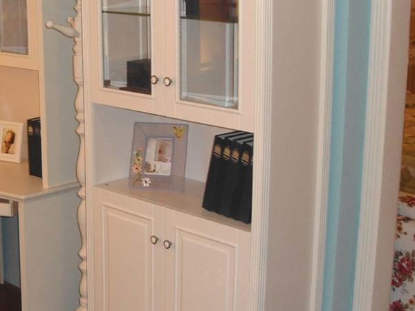 和风轩尼诗J41韩式田园风格家具两门书柜 三门书柜 四门衣柜