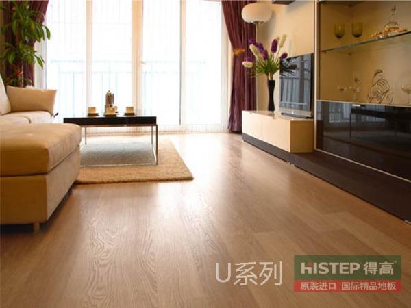 比利时快步舒适系列U915-白色橡木强化复合地板