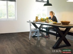 比利时快步精英系列 UE1388-老灰橡 强化复合地板