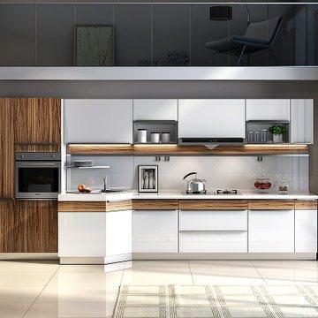 志邦厨柜 整体橱柜 现代简约UV材料