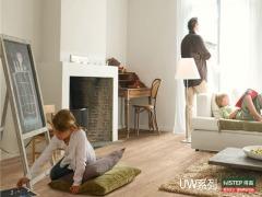 比利时快步舒适系列UW1548-原色锯切橡木强化复合地板