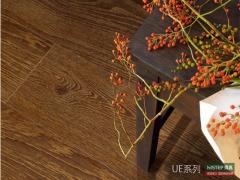 比利时快步精英系列 UE1387-原色老橡木 强化复合地板