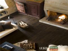 比利时快步精英系列 UE1496-深色老白橡 强化复合地板