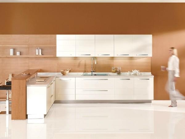 志邦橱柜 整体厨房 橱柜定做 时尚金属烤漆