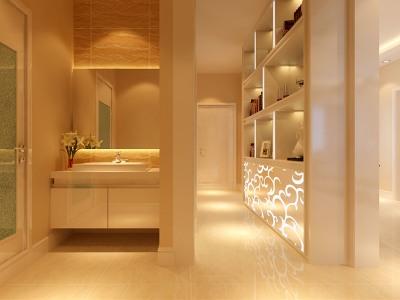 现代简约-106平米三居室装修样板间