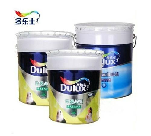 【多乐士套装】多乐士金装5合1超低VOC墙漆套装