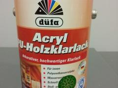 德国都芳超净水性木器PU清漆