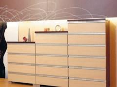 索菲亚现代简约定制六斗柜梳妆台 时尚家具储物柜 白色红色可选