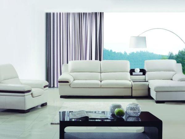 怡室艺家1602经典款式头层真皮沙发!
