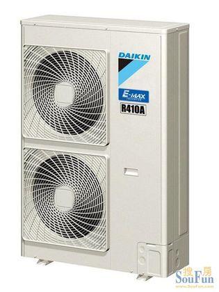 大金中央空调 VRV住宅用P系列6HP外机拖6台室内机