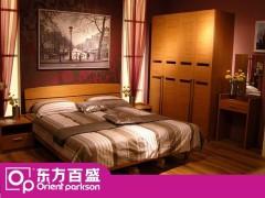 东方百盛时尚大气简约风913裸床 2个床头柜