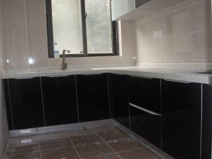 逸都瓷砖橱柜 砖砌橱柜 水泥防水橱柜晶钢门板系列
