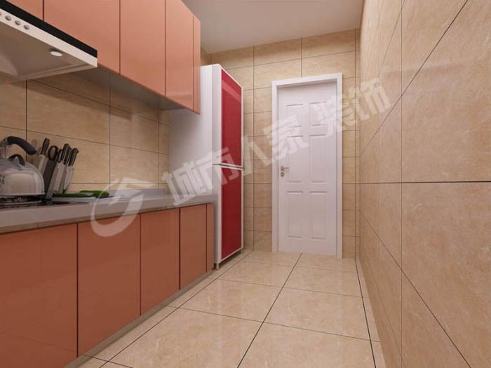 日韩风格-70平米一居室-装修样板间