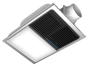 奥普浴霸-QDP1620A 双核动力暖房系统