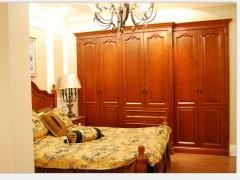 玛格定制家具 新美式田园 衣柜