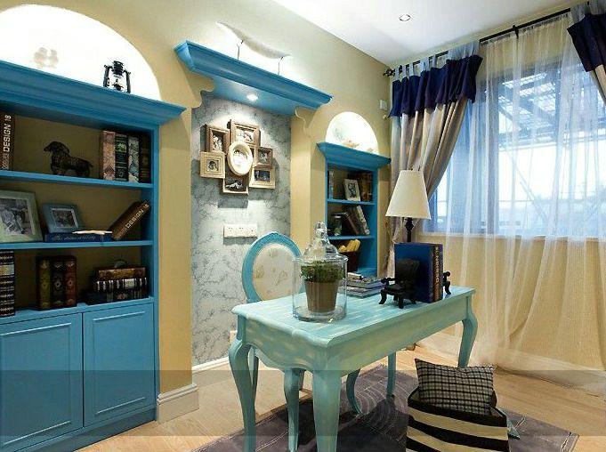 地中海风格-80平米二居室-装修设计