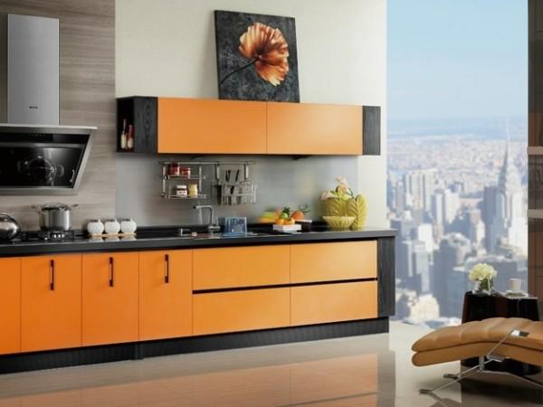 【欧派】 OP12-L053 戛纳 美妙甜蜜香橙款整体橱柜
