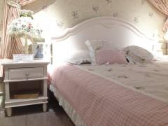 和风轩尼诗J334韩式田园风格单抽屉床头柜