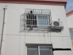 金山 202防盗窗 家庭防盗网 阳台防护栏安装