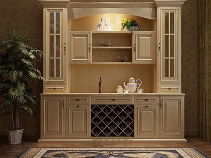 玛格定制家具 欧式餐边柜图片
