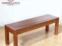 【佐必林】北美黑胡桃实木方脚长条凳 CY-7