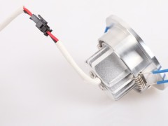 西蒙电气 LED射灯 TH03300102 闪光银