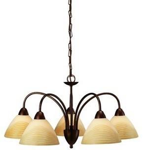 飞利浦 柏蕴吊灯 黄铜色 玻璃 金属