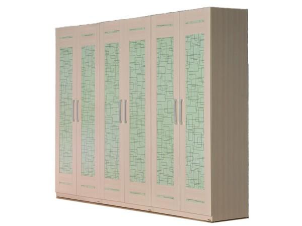 北京格林安家具 B25#六门衣柜
