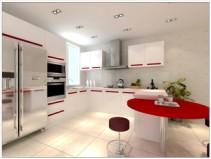 大连钛尔玛整体橱柜 mini厨房系列 整体橱柜图片