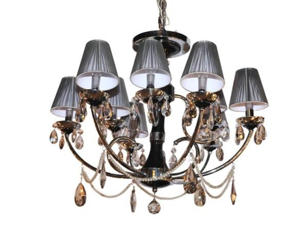 诺克普迪 吊灯 SA219-09 不锈钢 进口树脂 银色 黑