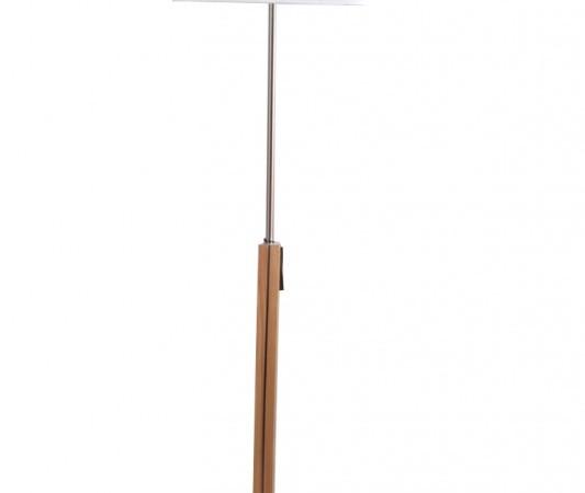 佳特灯饰 198258-660912落地灯 白色 橡木镀镍