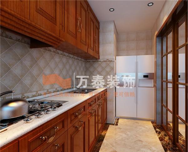 简欧风格四居室厨房装修效果图大全图片