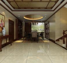 唐山御园-中式风格-别墅
