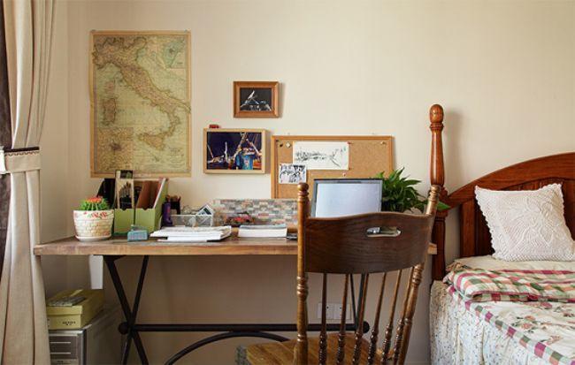 混合型风格95平米三居室装修效果图